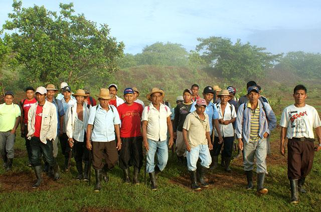 Mitarbeiter des Generation Forest